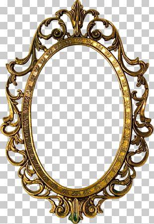 Frames Decorative Arts Mirror PNG