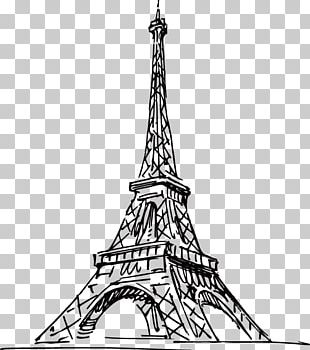 Eiffel Tower Tokyo Tower Drawing PNG