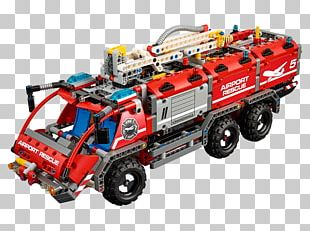 LEGO Technic Airport Rescue Vehicle 42068 Toy PNG