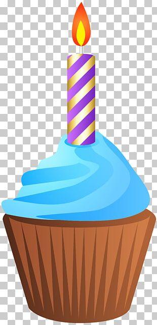 Muffin Birthday Cake PNG