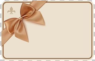 Voucher Ribbon Coupon Gift PNG