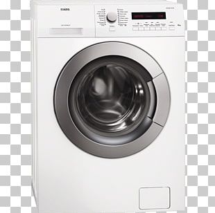 AEG L85470SL Washing Machines Clothes Dryer Laundry PNG