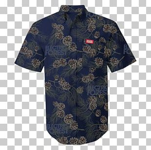 Electric Forest Festival T-shirt Clothing Aloha Shirt Sleeve PNG