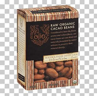 Raw Foodism Organic Food Superfood Cocoa Bean Nut PNG