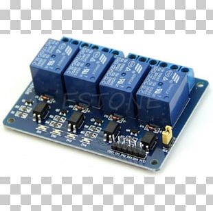 Microcontroller Relay Electronics Electronic Component Electrical Network PNG