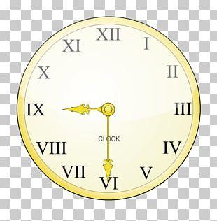 Digital Clock Roman Numerals Number Clock Face PNG
