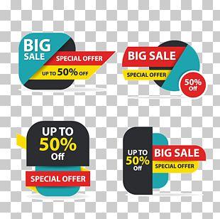 Sales Logo Banner PNG
