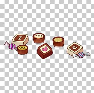 Praline Candy Valentine's Day PNG