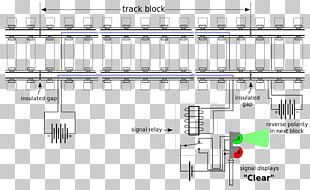 Train Track Circuit Electronic Circuit Electrical Network PNG