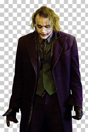 Heath Ledger Joker Batman The Dark Knight Actor PNG