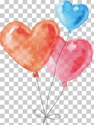 Watercolor Painting Drawing Heart PNG
