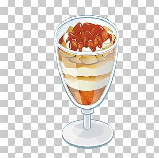 Ice Cream Sundae Knickerbocker Glory Syllabub Parfait PNG