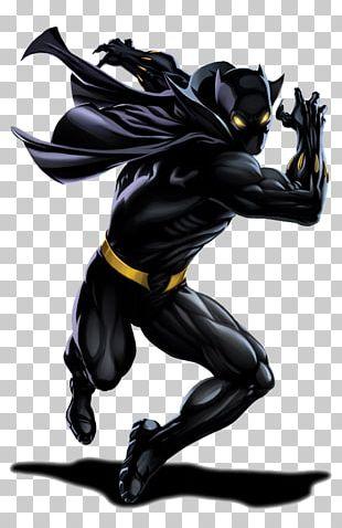 Black Panther Superhero Marvel Heroes 2016 Wolverine Hulk PNG