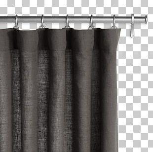 Curtain Drapery Linen Textile Grommet PNG
