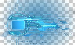 Technology Light Blue PNG