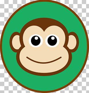 Monkey Cartoon Drawing Face PNG