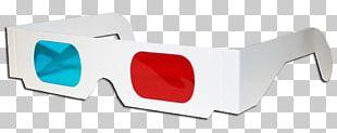 Goggles Sunglasses Paper 3D Film PNG