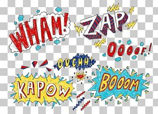 Color Pow! Graphic Design PNG