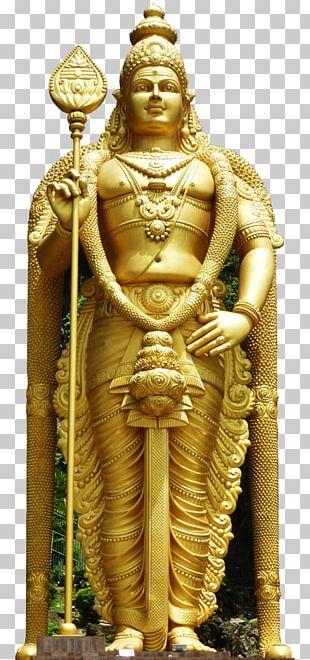 Batu Caves Lord Murugan Statue Hindu Temple Thaipusam Kartikeya PNG
