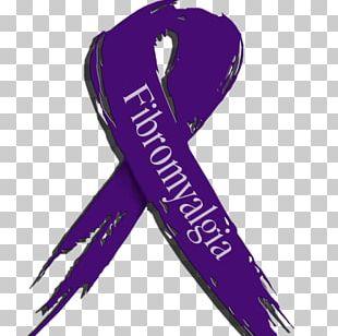 Fibromyalgia Awareness Ribbon Chronic Condition Chronic Pain Purple Ribbon PNG
