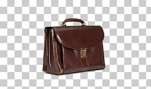 Briefcase Handbag Leather Messenger Bags Product PNG