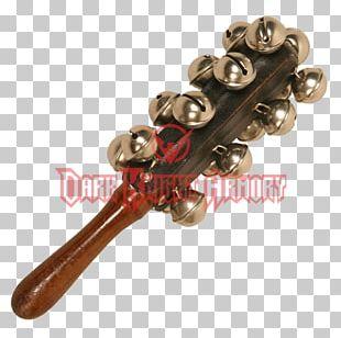 Brass 01504 Sleigh Bells Handle Wood PNG