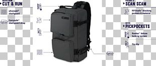 Pacsafe Venturesafe 150 GII Anti Theft Cross Body Pack Black Backpack Bag Anti-theft System PNG