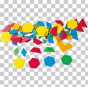 Pattern Blocks Geometry Cube Toy Block PNG