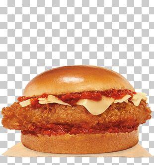 Chicken Sandwich Chicken Parmigiana Burger King Specialty Sandwiches Hamburger Crispy Fried Chicken PNG