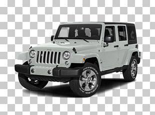 2018 Jeep Wrangler JK Unlimited Sahara Chrysler Dodge Four-wheel Drive PNG