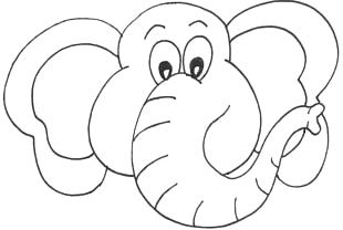 Cartoon Elephant Face Png Images Cartoon Elephant Face Clipart Free