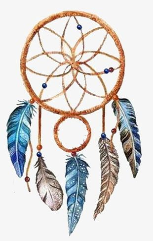 Hand-painted Dream Catcher PNG