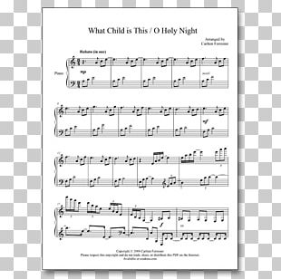 Sheet Music Piano Christmas Music Musical Note PNG