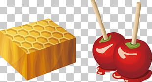 Candy Apple Caramel Apple Fruit Salad PNG