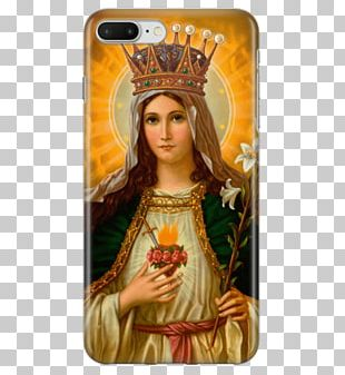 Immaculate Heart Of Mary Sacred Heart Prayer Queen Of Heaven PNG