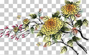 Chinese Art Desktop Painting PNG