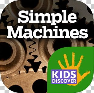 Simple Machine Screw Lever Kids Discover PNG