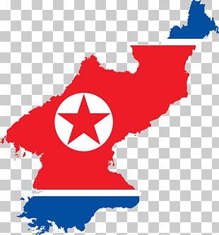 Flag Of North Korea Map Flag Of South Korea PNG