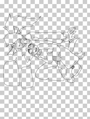 Pack Animal Horse Drawing Line Art Sketch PNG