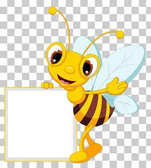 Bee Cartoon PNG
