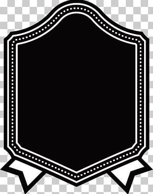 Black Frame Design PNG