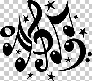 Musical Note Decal Sticker PNG