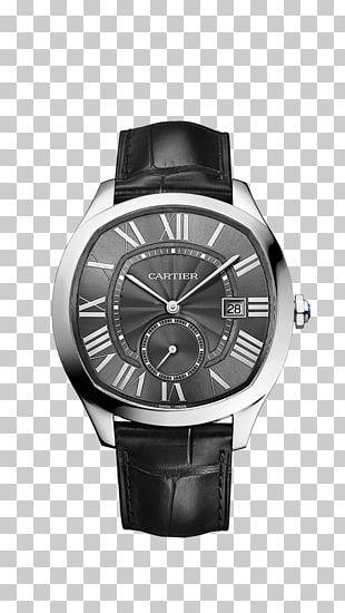 Cartier Drive De Cartier Watch Jewellery Movement PNG