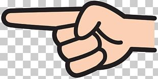 Index Finger Pointing Index Point PNG