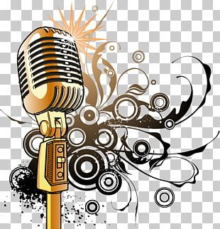 Microphone Music Film PNG