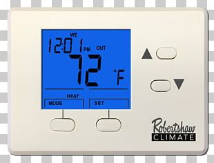 Programmable Thermostat Wiring Diagram Sensor PNG