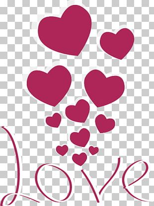 Valentines Day Heart Romance PNG
