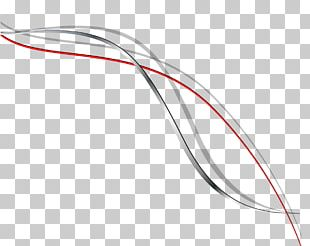 Technology Line White Red PNG
