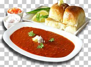 Pav Bhaji Indian Cuisine Vada Pav Gosht Street Food PNG
