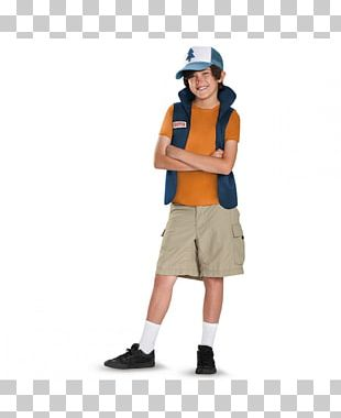 Dipper Pines Halloween Costume Bill Cipher Party City PNG